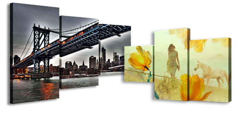 Картины и фото на досках или холсте